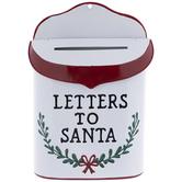 Letters To Santa Metal Mailbox