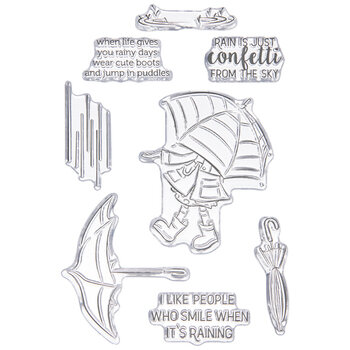 Cute Boots Clear Stamps