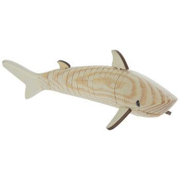 Wood Wiggle Shark