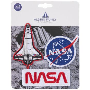NASA Space Program Iron-On Appliques