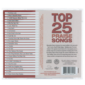 Top 25 Praise Songs Reckless Love (CD)