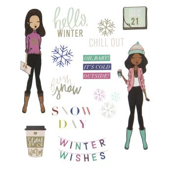 Wintertime Fun Stickers
