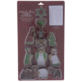 Nativity Story Metal Cookie Cutters
