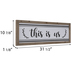 This Is Us Wood Wall Decor