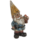 Gnome With Mushrooms