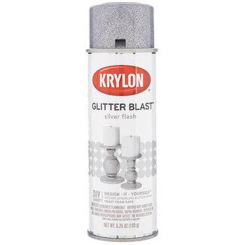 Silver Flash Krylon Glitter Blast Spray Paint