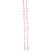 Pink Oval Cat's Eye Glass Bead Strands