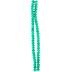 Turquoise Gemcut Glass Bead Strand
