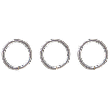 Sterling Silver Heavy Gauge Jump Rings