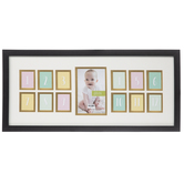 Baby's First Year Collage Wall Frame