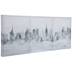 Foggy City Skyline Canvas Wall Decor