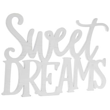 Sweet Dreams Wood Wall Decor