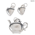 Wonderland Tea Set Charms