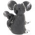 Gray Glass Koala & Baby