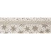 Glitter Snowflakes Wired Edge Single-Face Satin Ribbon - 2 1/2