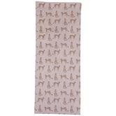Pink Cheetahs Table Runner