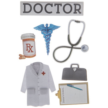 Doctor 3D Stickers