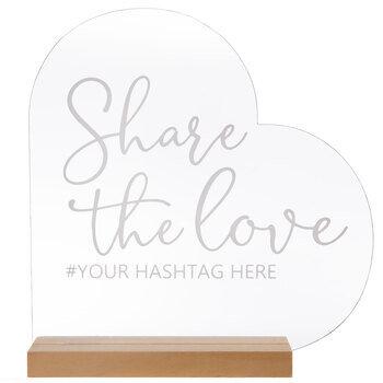 Share The Love Heart Decor