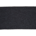 Black Ribbed Cuff Trim - 2 7/8