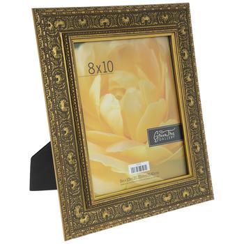 """Gold Embossed Swirl Frame - 8"""" x 10"""""""