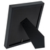 Black Wood Double Mat Frame - 4