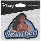Moana Island Girl Iron-On Applique