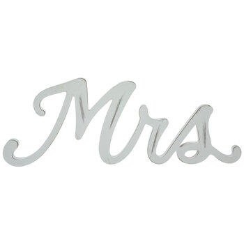 Antique White Mrs Wood Decor