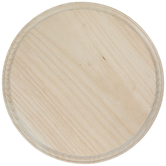 Round Wood Plaque - 6 3/4""