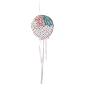 Pink, Blue & White Lattice Lollipop Pick