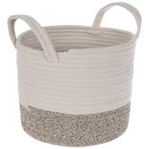 Two-Tone Cotton Basket