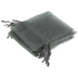 Gray Sheer Wedding Favor Bags - 12 Pieces