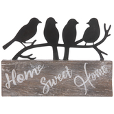 Birds Home Sweet Home Decor