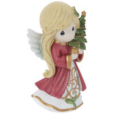 Precious Moments Angel With Tree