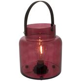 Red Glass Lantern