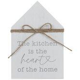 Kitchen Heart Home Wood Decor