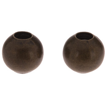 Round Metal Beads - 4mm