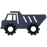 Blue Dump Truck Wood Wall Decor
