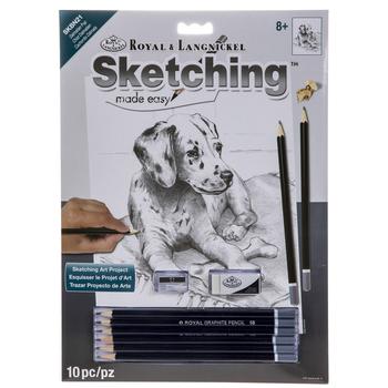 Dalmatian Pup Sketching Made Easy Kit