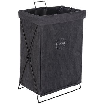 Gray Laundry Hamper