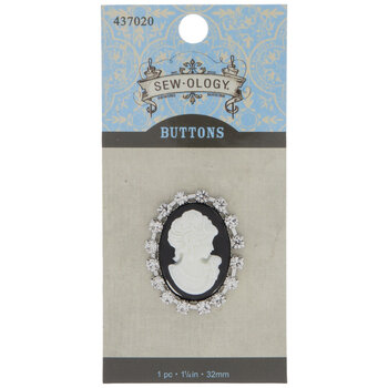Cameo Shank Button - 32mm