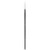 Premium White Taklon Round Paint Brush - Size 1