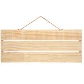 Rectangle Wood Panel Wall Decor