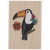 Toucan Rubber Stamp