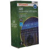 Blue Icicle LED Lights