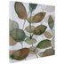 Layered Leaves Canvas Wall Decor