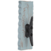 Blue Boat Cleat Metal Wall Hook