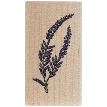 Lavender Rubber Stamp