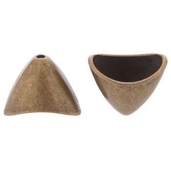 Triangle Bead Cones - 16mm x 20mm