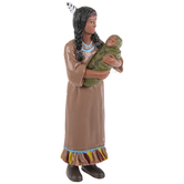 Native American Mother & Baby