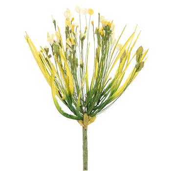 Yellow Wildflower Burst Stem
